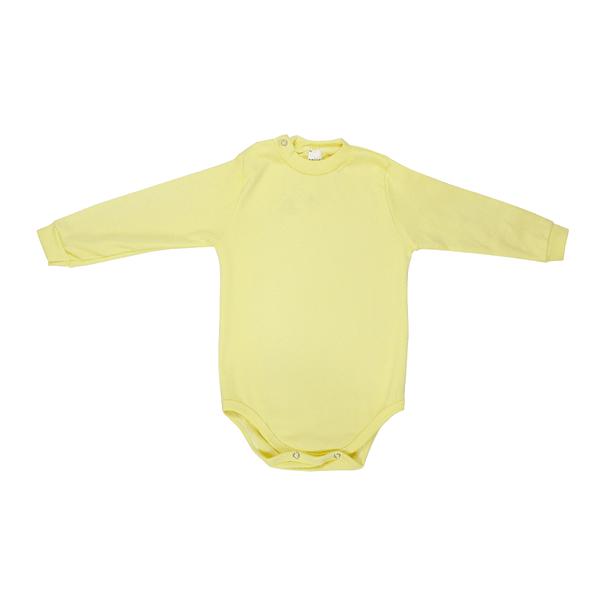 Body Bebê Avulso De Ribana Amarelo