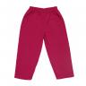 Calça Infantil De Moletom Ilhama Rosa e Pink Cleomara