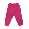 Calça Bebê De Boucle Peluciado Pink C Canaã