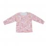 Blusa Infantil De Boucle Peluciado Blusa e Calça Arco-íris Pink C Canaã