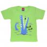 Camiseta Infantil Jacaré Verde Alemara