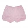 Shorts Infantil Suedine Rosa C. Canaã