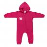 Macacão Bebê Abertura De Zíper Pink Gatinha - Kappes
