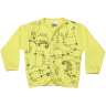 Cardigã  Urso Amarelo - Dino Kids