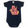 Body Bebê Wild Marinho - Dino Kids