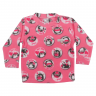 Blusa Bebê De Soft Pinguim Pink - C. Canaã