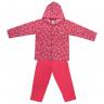 Conjunto Infantil De Soft Casaco e Calça Pink - C. Canaã