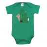 Body Bebê The Wild Verde Escuro - Dino Kids