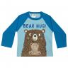 Blusão Bebê De Moletom Bear Hug Azul - Jidi