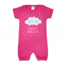 Macacão Bebê Nuvem Pink - Dino Kids