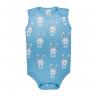 Body Bebê Coelho Azul - Dino Kids