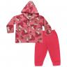 Conjunto Infantil De Soft Com Capuz Unicórnio Pink C. Canaã