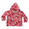 Casaco Infantil De Soft Com Capuz Unicórino Pink C. Canaã