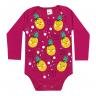 body bebe envelope urso abacaxi pink dino kids