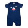 macacao bebe navio marinho dino kids