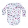 body bebe envelope baleia rosa vestir com amor