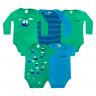 kit body bebe 5 pecas pagao barco verde dino kids min