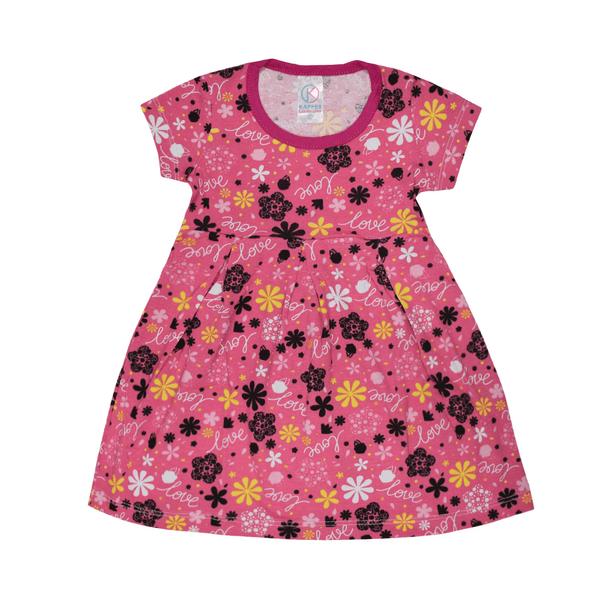 vestido infantil avulso love pink vestir com amor
