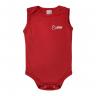body bebe regata tubarao vermelho vestir com amor