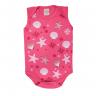 body regata bebe estrela pink dino kids