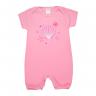 macacao bebe estrela rosa dino kids