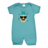 macacao bebe abacaxi turquesa dino kids