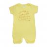 macacao bebe fun amarelo dino kids