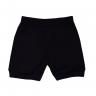 shorts bebe pagao envelope carros preto vestir com amor