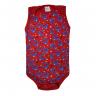 body bebe regata robo vermelho vestir com amor