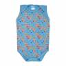 body bebe regata pagao bear hero azul dino kids
