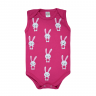 body bebe regata pagao coelho pink dino kids