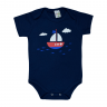 body bebe pagao barco marinho dino kids