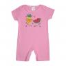 banho de sol bebe pagao frutas rosa dino kids