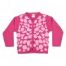 cardiga bebe pagao girafa pink vestir com amor
