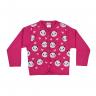 cardiga infantil panda pink vestir com amor