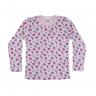 blusa infantil suedine fundo do mar rosa c canaa