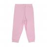 calca infantil suedine fundo do mar rosa c canaa