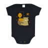body bebe urso preto dino kids