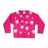 cardiga morango pink vestir com amor