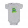 body bebe jacare mescla e verde vestir com amor