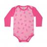 body bebe pagao envelope borboleta chiclete e rosa dino kids