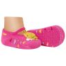 meias fun socks com pelucia de abelinha pink winston