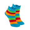 meias fun socks com orelhinhas jacare azul winston