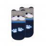meias fun socks com orelhinhas cachorro marinho winston