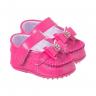 mocassim bebe com laco pink keto baby