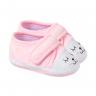 tenis bebe feminino com rostinho rosa keto baby