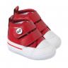 tenis cano alto bebe masculino vermelho keto baby