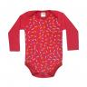body bebe pagao cupcake vermelho vestir com amor