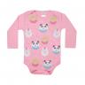 body bebe pagao donuts rosa vestir com amor