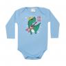 body bebe pagao envelope dinossauro azul kappes